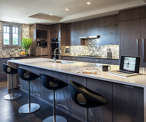 kitchen, interior, and luxury image