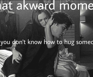 akward, hug, and waldorf image