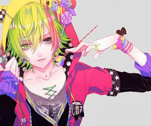 anime, boy, and happy tree friends image