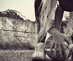 ball, Basketball, and girl image
