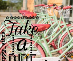 bike, pastell, and pink image