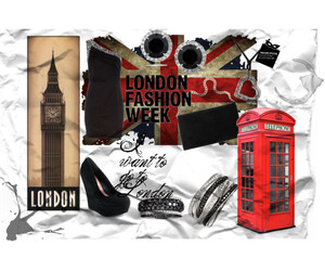 dress, london, and Polyvore image