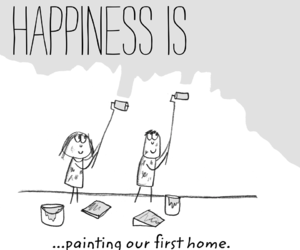 artist, home, and paint image