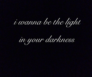 Darkness, feelings, and light image