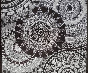 blackandwhite, doodle, and drawings image