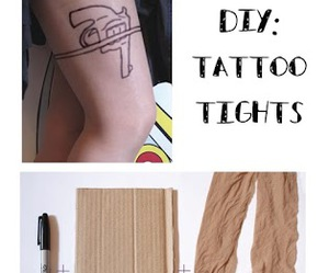 diy, Easy, and tattoo image