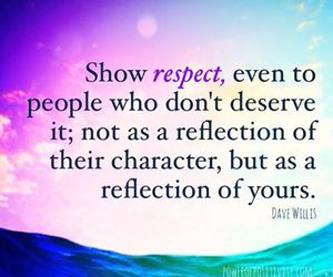 wisdom, respect, and being kind image