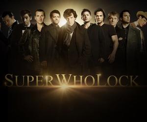 doctor who, sherlock, and supernatural image