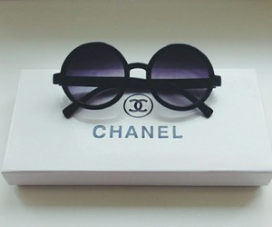 chanel, classy, and sunglasses image