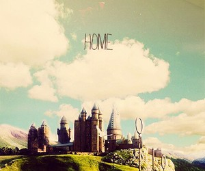 hogwarts, home, and harry potter image