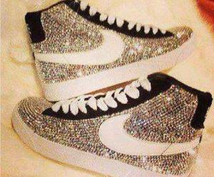 air, nike, and sparkle image