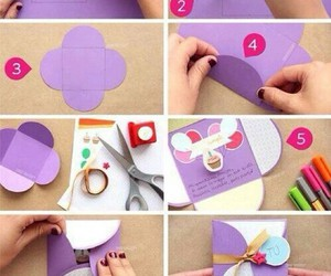diy, card, and tutorial image
