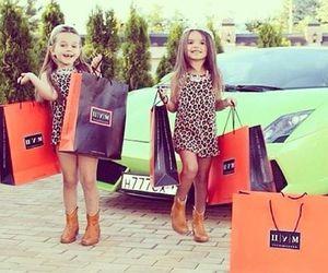 fashion, girl, and child image