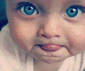 baby, cute, and blueeyes image