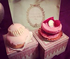cupcake, laduree, and pink image
