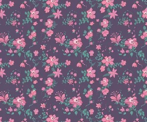 pink, flower, and wallpaper image