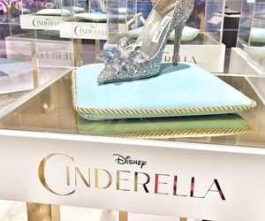 cinderella, disney, and shoes image