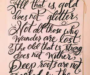 lord of the rings, quote, and quotes image