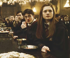 harry potter, hogwarts, and ginny weasley image