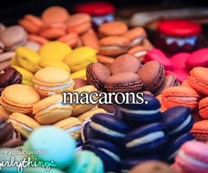 macarons, food, and just girly things image