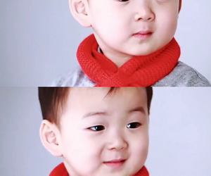 minguk, baby, and kbs image
