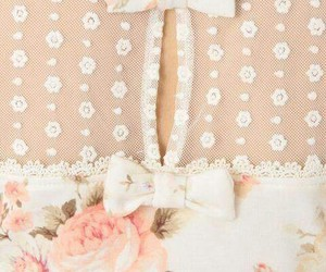 fashion, flowers, and bow image