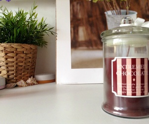 brown, candle, and decoration image