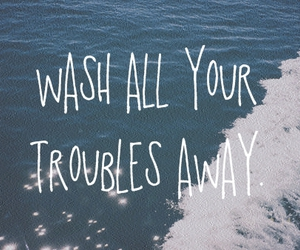 text, water, and trouble image