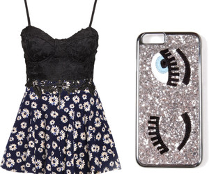 black, Polyvore, and case image
