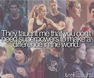 divergent, book, and the maze runner image