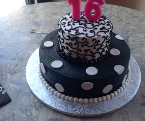 16, cake, and sweetsixteen image