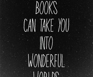 book, world, and wonderful image