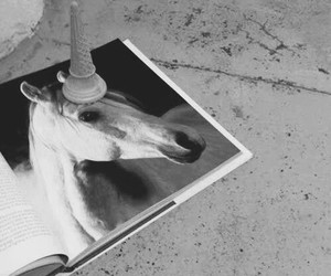 unicorn, horse, and ice cream image