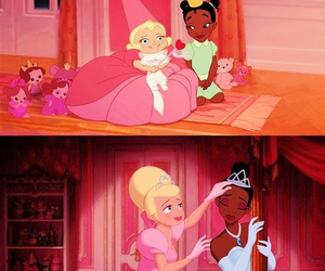 disney, friends, and princess and the frog image