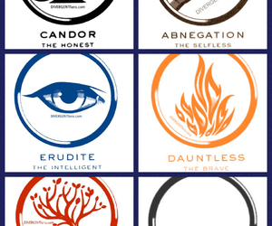 insurgent, divergent, and factions image