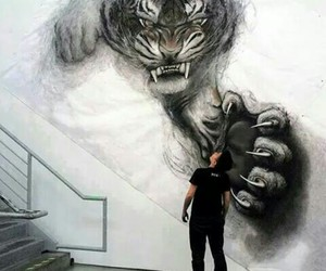 art, tiger, and amazing image