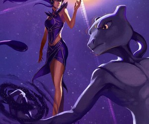 pokemon, league of legends, and syndra image