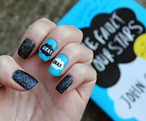 nails, okay, and book image