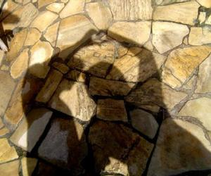 heart, shadow, and love image