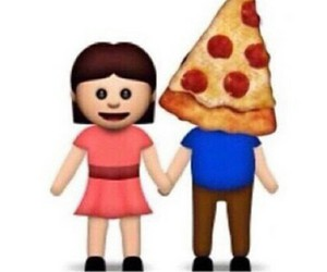 pizza, love, and boyfriend image
