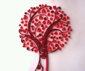 tree, red, and heart image