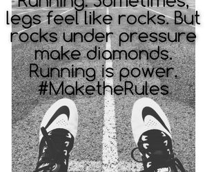quote, running, and diamond image