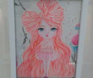 picture, pink, and ribbon image