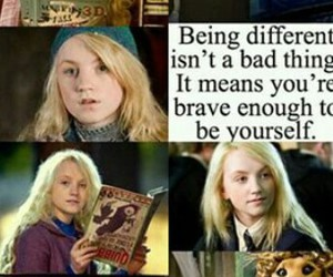 harry potter, luna lovegood, and different image