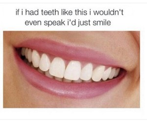 smile, teeth, and funny image