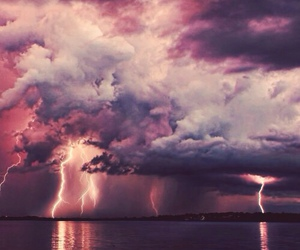 clouds, sky, and storm image