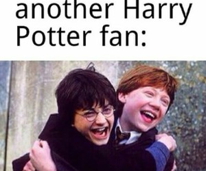 harry potter, funny, and potterhead image