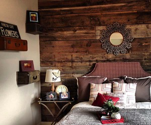 bedroom, rustic, and inspiration image