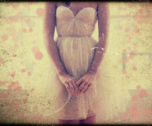 dress, fashion, and tulle image