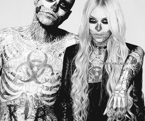 tattoo, Taylor Momsen, and rick genest image